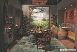 kitchen decorating themes tuscan. Tuscany Vineyard Style Decorating - Tuscan Wall Mural Stickers Themed Kitchen Accessories Grape Themes M