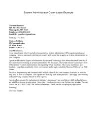 example of administrative cover letters template example of administrative cover letters