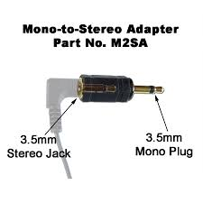 3 5mm mono jack wiring just another wiring diagram blog • 3 5mm 2 conductor mono male plug to 3 5mm 3 conductor stereo rh scansound com 3 5mm mono jack er usb cable to rca jack