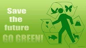 GO GREEN! desktop PC and Mac wallpaper