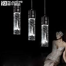 Injuicy <b>Lighting Modern</b> Led K9 Clear Crystal Column Eiffel Tower ...