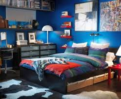 Cool Bedrooms For Teenage Guys With Floating Bookshelf ...