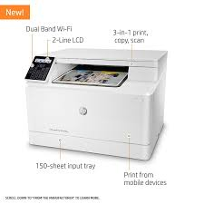 Amazon Com Hp Laserjet Pro M180nw All In One Wireless Color Laser
