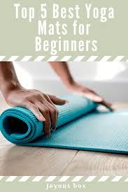 top 5 best yoga mats for beginners 1 min