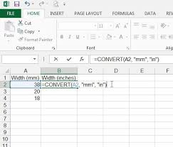 How To Convert Mm To Inches In Excel 2013 Solve Your Tech