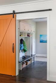 interior barn doors diy entry traditional with built in hardwood floor
