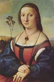 portrait of maddalena doni
