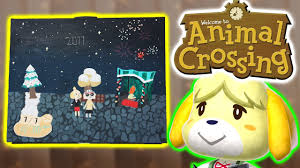 animal crossing painting new leaf new year s eve painting time lapse