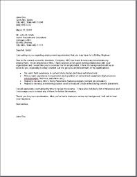 Application Letter Sample Mechanical Engineer Mechanical