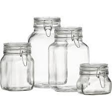 fido glass jar 1000ml preserving pans
