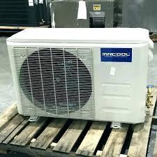diy mini split heat pump pool heater ground source systems air conditioner mr cool 18k btu with wifi
