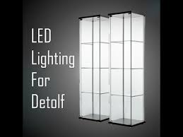 ikea detolf led lighting you