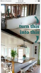 Because I Wanna Tear Down A Half Wall Home Remodel Pinterest