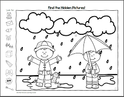 Spring Hidden Pictures Printables - Printable 360 Degree