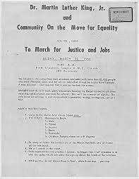 defining martin luther king jr as an existentialist hero the  fig 2 flyer inviting the public to join the sanitation strikes image courtesy of