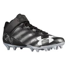 under armour 24 7 low. under armour c1n mid mc football shoes black metallic silver 24 7 low