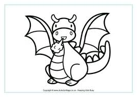 Small Picture Mythological Dragons 35 Dragon coloring pages and pictures Print