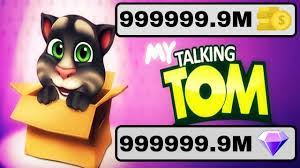 features of the my talking tom game