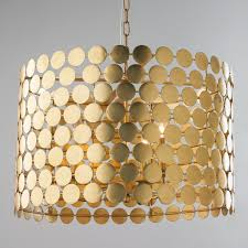 dotted metal drum shade chandelier connect the dots to find this stylish mod chandelier ready to