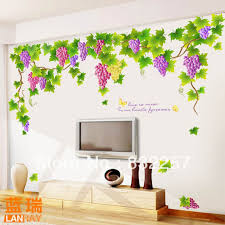 Small Picture Wall Decor Stickers Online Shopping Grape Vine Wall Decals