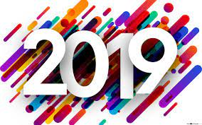 New year - abstract 2019 HD wallpaper ...