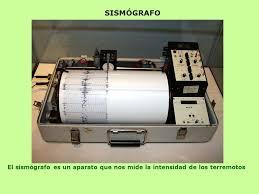 Resultado de imagen para sismografo aparato