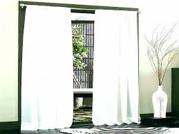 vertical blinds for patio doors curtains over sliding glass curtain rod panel