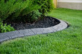 Magnificent Landscaping Concrete Magnificent Lawn Edging | Concrete Curbing  Calgary And Area ~ Creative Edge