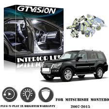Mitsubishi Montero Interior Lights Details About 13pcs White Led Lights Interior Package Kit For Mitsubishi Montero Pajero 07 15