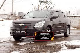 <b>Защитная сетка решетки радиатора</b> для Chevrolet Cobalt (седан ...