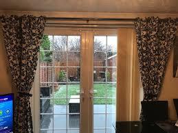 Black Patterned Curtains Best Inspiration