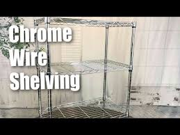 sandusky ws241430 chrome 3 shelf wire shelving 24 width x 30 height x 14 depth review