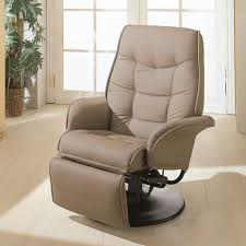 Office recliner chairs White Brown Top Grain Leather Executive Desk Chair With Reclining Amazoncom Simple Black Canvas Swivel Desk Chair With Padded Arms And Footrest