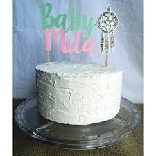 Dream Catcher Baby Shower Cake dream catcher cake topper dream catcher baby dream by FalcoClan 67