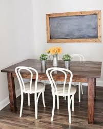 diy dining room table makeover. Farmhouse Table DIY With Removable Legs Diy Dining Room Makeover N