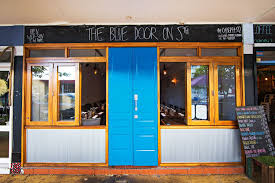blue door house. The Blue Door House