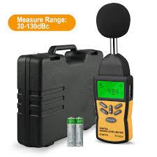 Decibel Meter With Warning Light Decibel Meter Btmeter Bt 882a Digital Sound Level Meter Sound Pressure Level Reader Spl With 30 130db Range For Noise Measurement