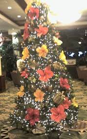 Christmas In Paradise Menu0027s Holiday Christmas Hawaiian Shirt Christmas Tree Hawaii