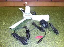 rv best dc 12 volt ceiling fan battery powered outdoor fancy 12volt dc 16 portable mini