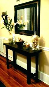 round entry way table entry table decor decorating a console table in entryway console table decor