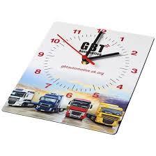 brite clock rectangular wall clock