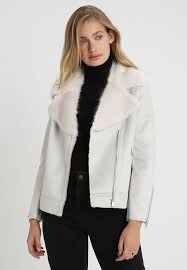 mint velvet aviator faux leather jacket light grey 32921 xo s today