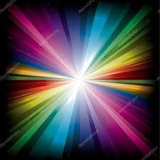 Who Owns Rainbow Light Magic Radial Rainbow Light Stock Vector Booblgum 18093829