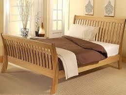 wooden sleigh bed. Fine Sleigh Cordelia Bed Frame  On Wooden Sleigh O