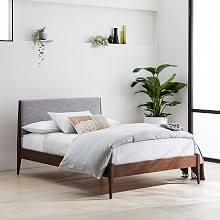 modern wood beds. Perfect Wood Modern Show Wood Bed  Pumice YarnDyed Linen Weave With Beds E