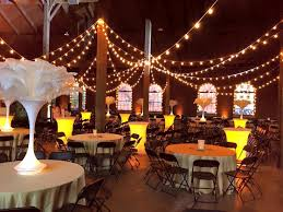 wedding at the roundhouse depot venue and event space huntsville al lighting by steve metz