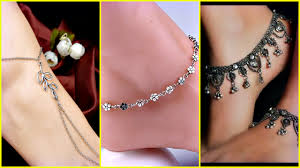Fancy Silver Payal Designs With Price Light Weight Fancy Silver Anklets Designs 2017