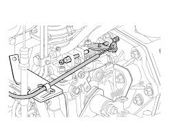 Periodic maintenance adjusting engine speed remote control cable ensure the control lever on the engine side