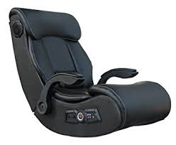 X Rocker X-PRO Gaming chair with Speakers 2.1 Audio Bluetooth, Black