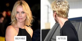 Charlize Theron Short Hair Style best celebrity haircuts and color of 2015 celebrity hair 5895 by wearticles.com